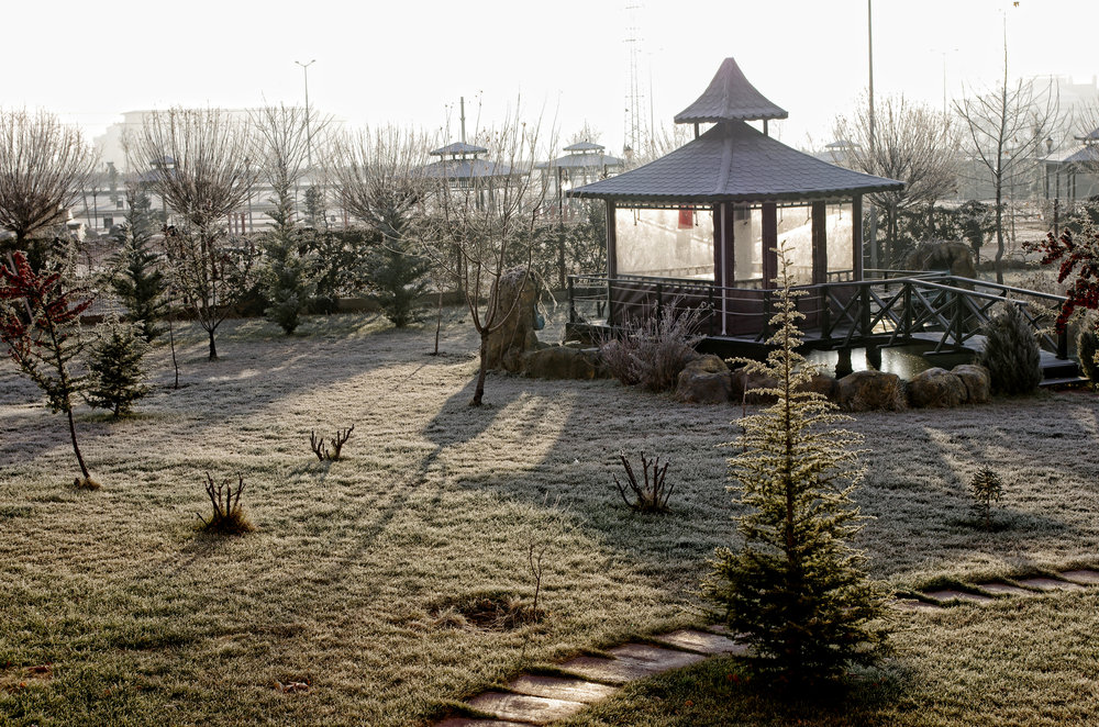 The Gazebo in the Chill of the Morning II