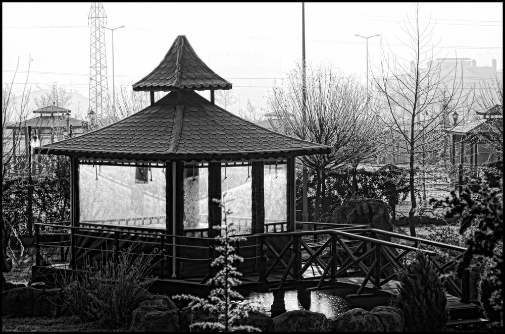 The Gazebo in the Chill of the Morning