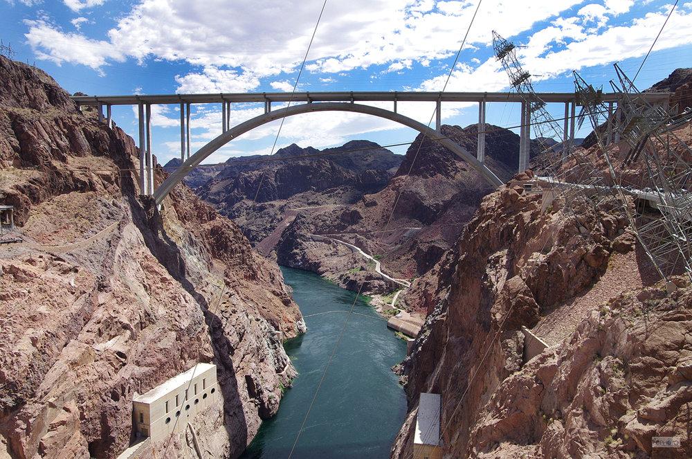 Tillman Bridge at Hoover Dam, Nevada, USA