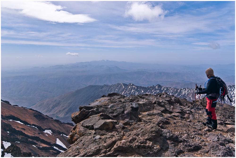 At 13671 ft.