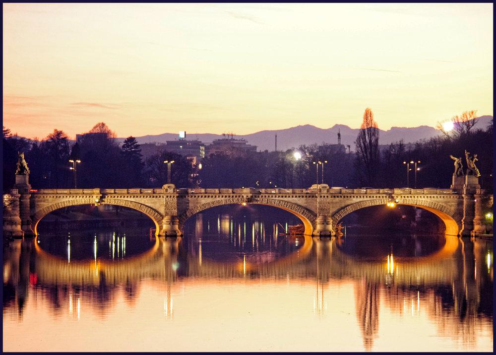 Bridge over the Po