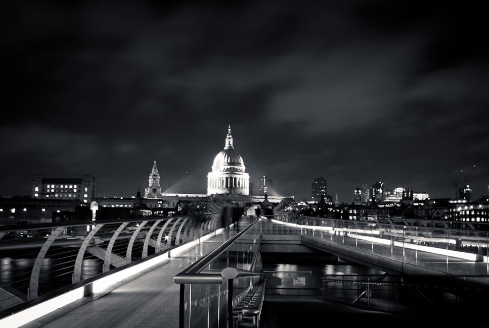 St Pauls from the Millenium Bridge