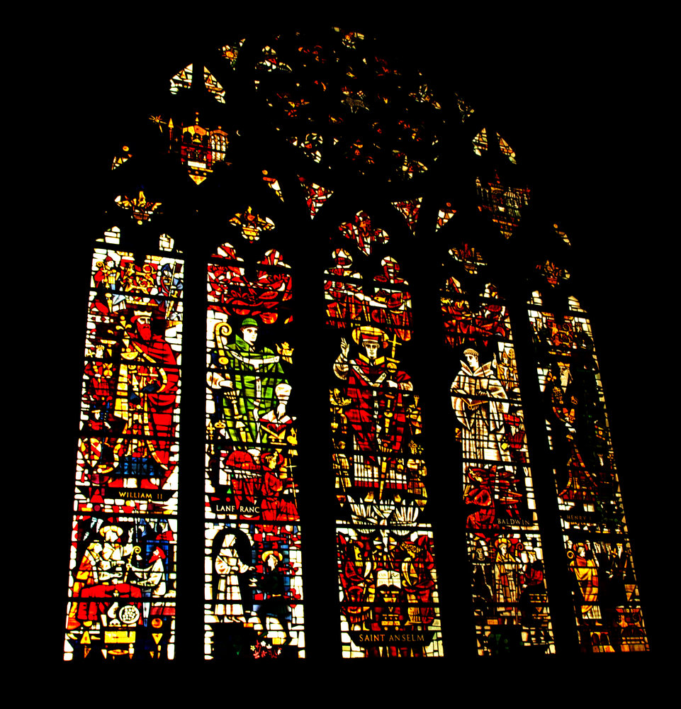 Stained Glass Canterbury Cathedral
