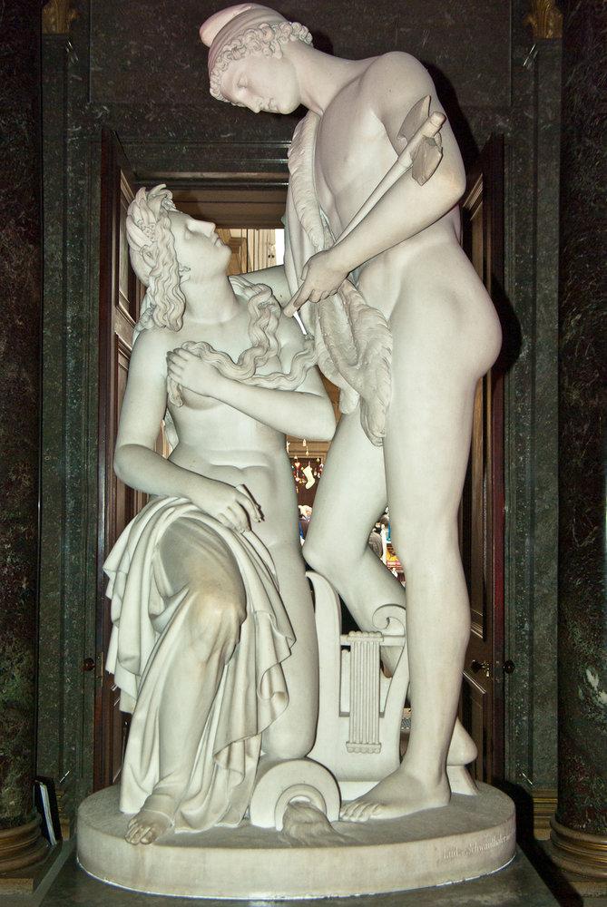 Statue at  Chatsworth