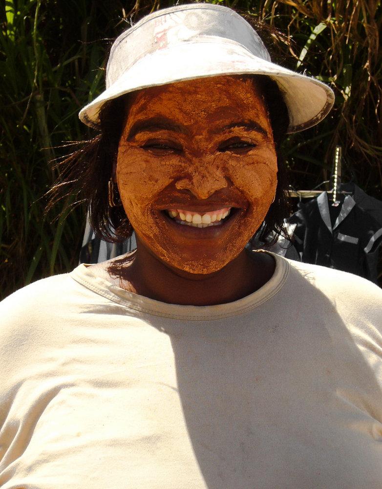 Sun cream - African style