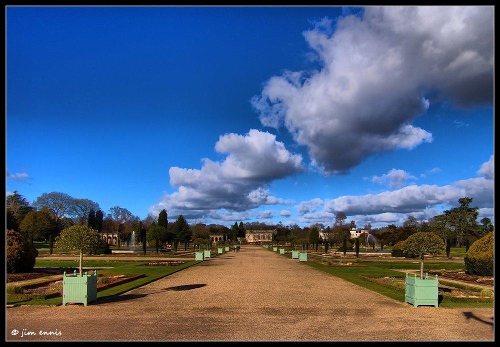 Trentham Gardens inward view