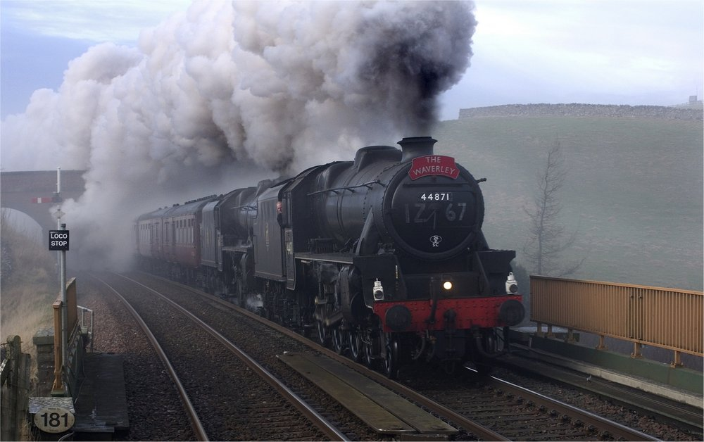 Winter Cumbrian Express