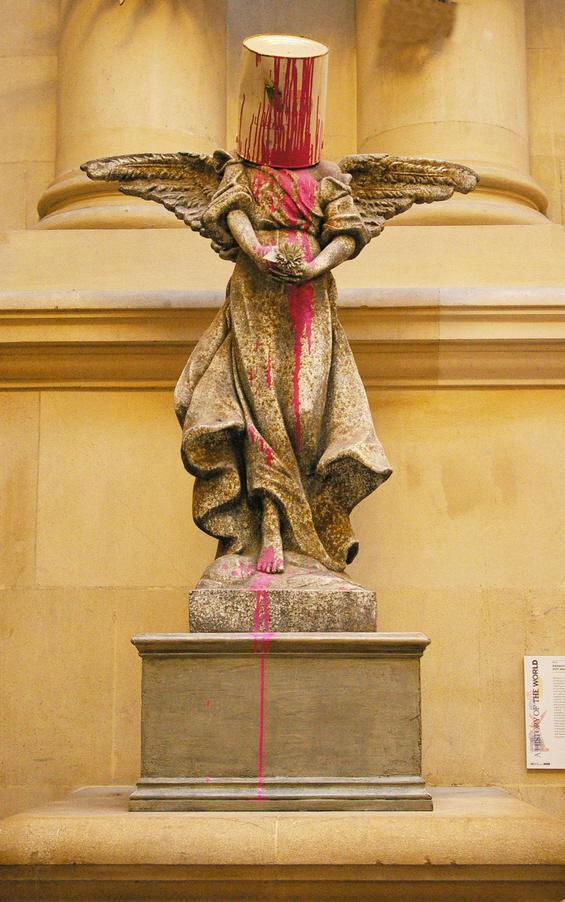 Banksy's Paint Pot Angel