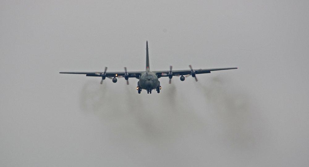 Hercules landing