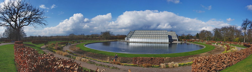 Wisley Glasshouse panorama