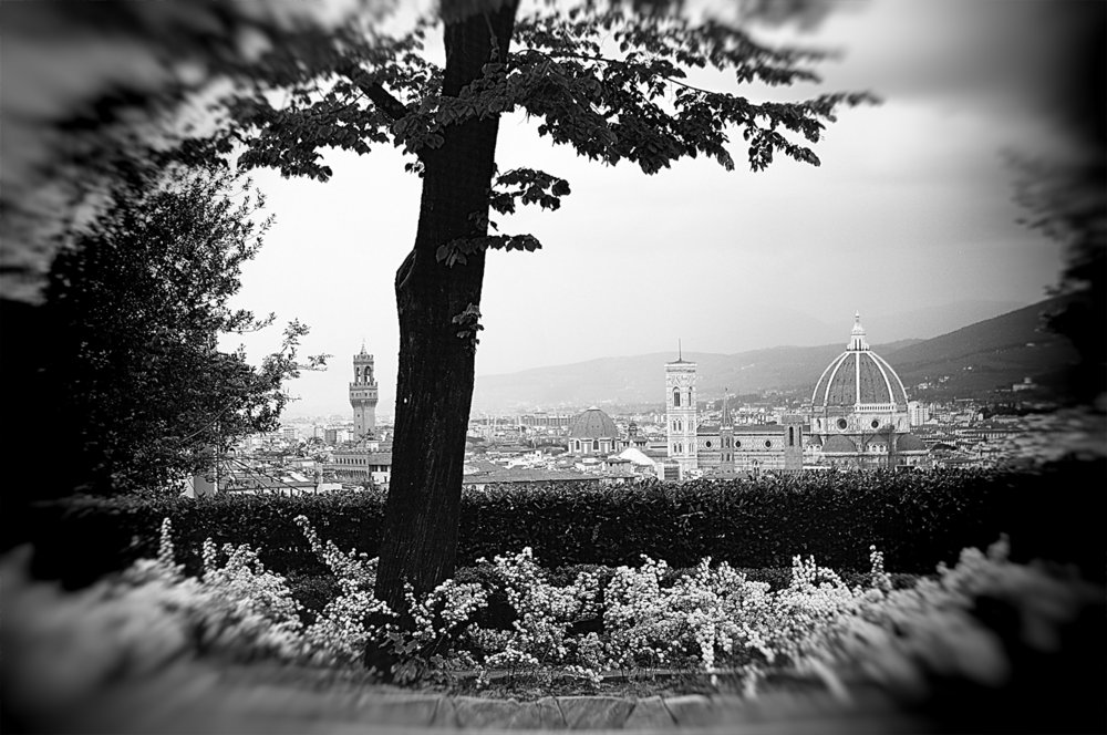 BW view from San Miniato