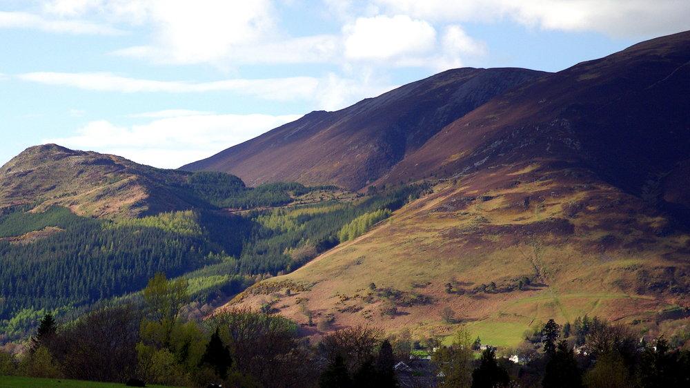 Hills above Keswick