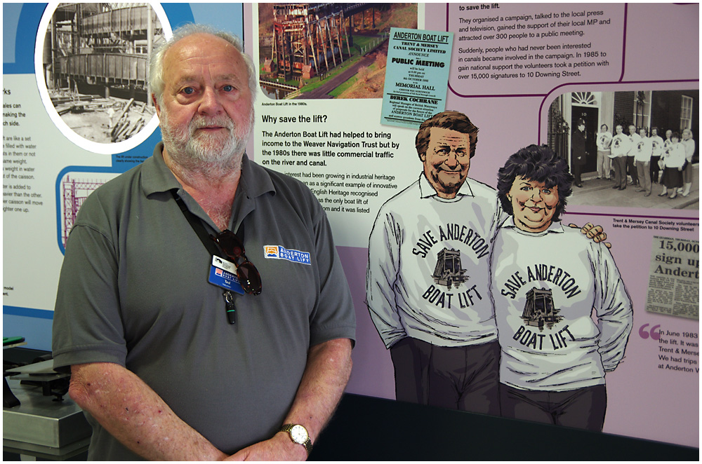 Ted and the Anderton Boat Lift