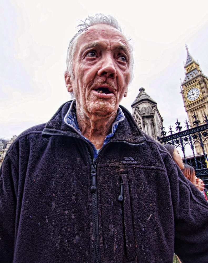 Despair ! outside Parliament today May 10th.