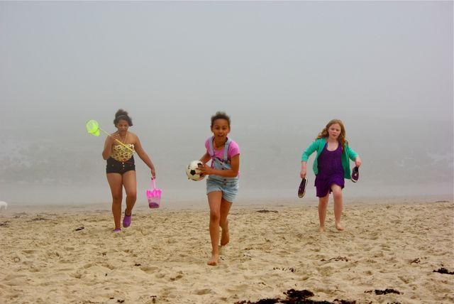 Fun at Misty beach