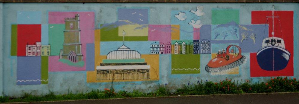 Graffiti Art - Scenes of the area