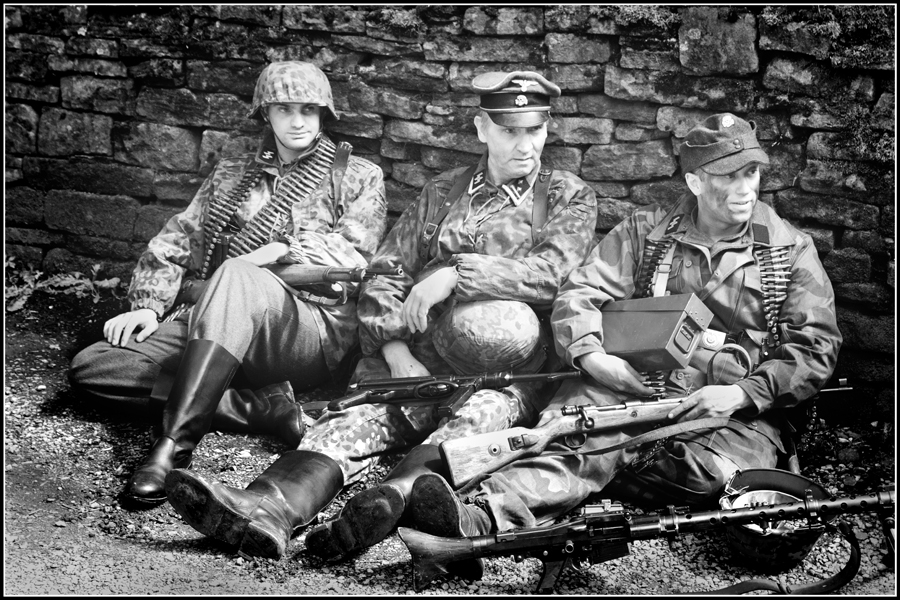 Soldiers at rest