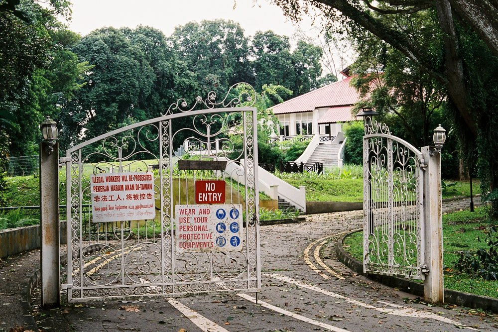 Some Old Gates in Singapore
