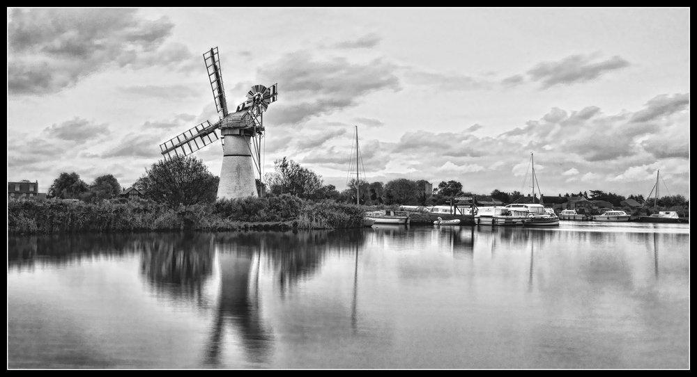 Thurne Dyke Drainage Mill