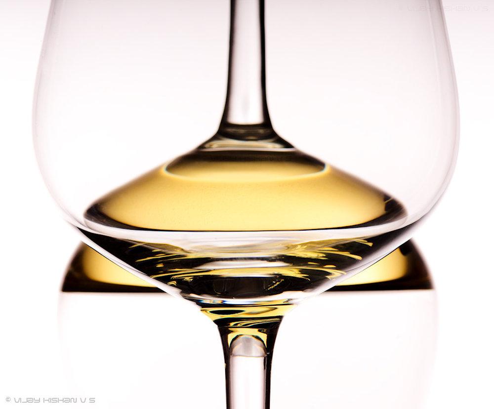 Wine - white n simple
