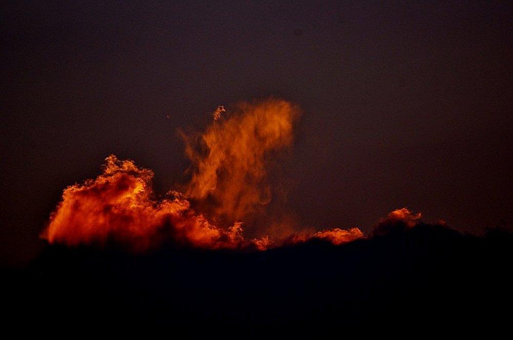 Fiery Clouds II