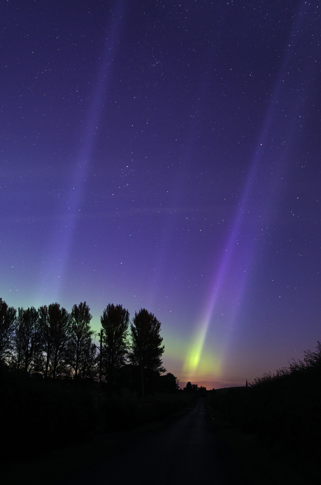 Aurora from Kelso 16th/17th July 2012