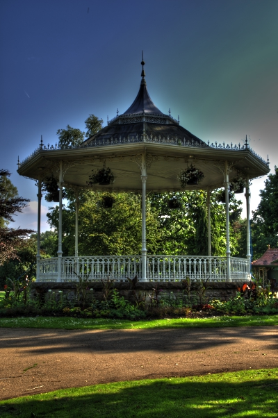 Bandstand in HDR