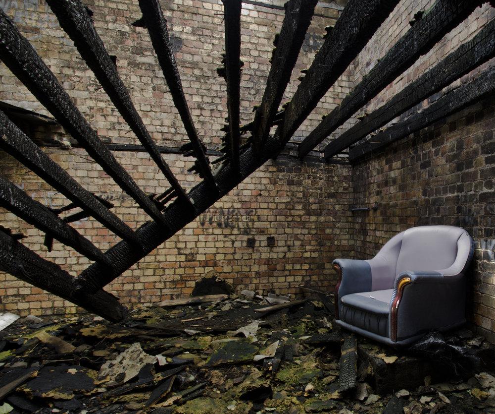 Fire Retardent Chair