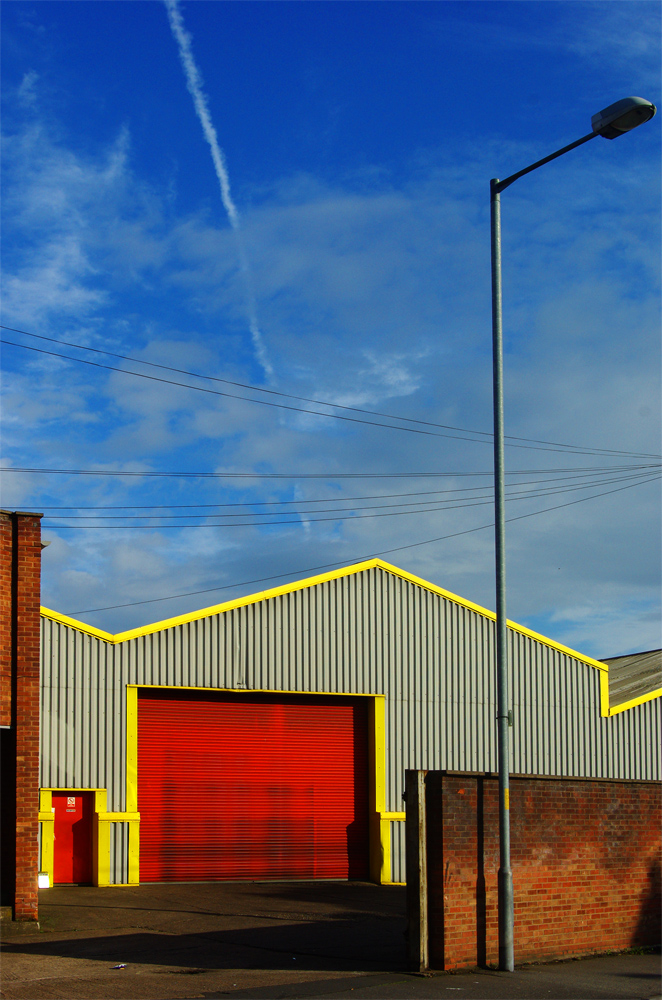 Walsall factory - sunny day!