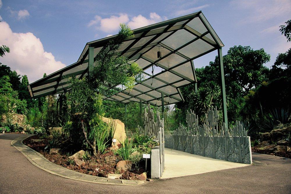 Cactus House, Singapore Botanic Gardens