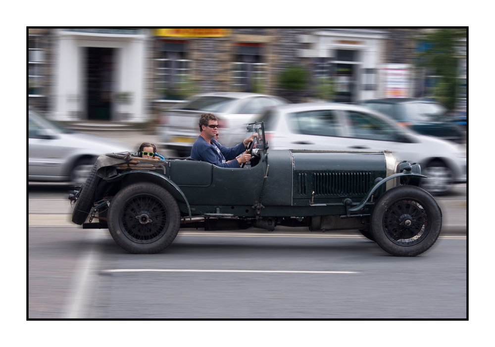 old motor passing