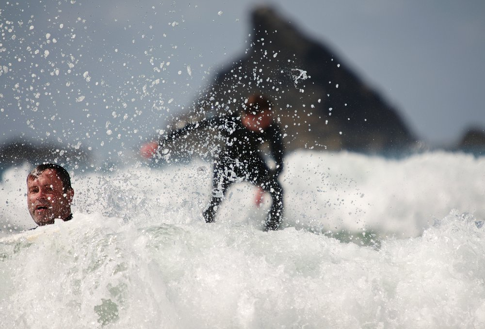 Sinking & Surfing