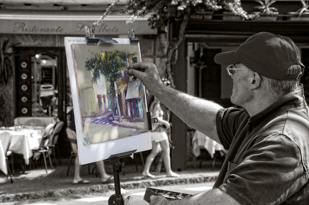 Sorretine artist