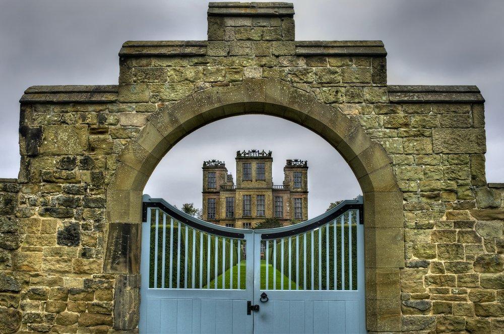 Hardwick Through The Gates - Tonemapped
