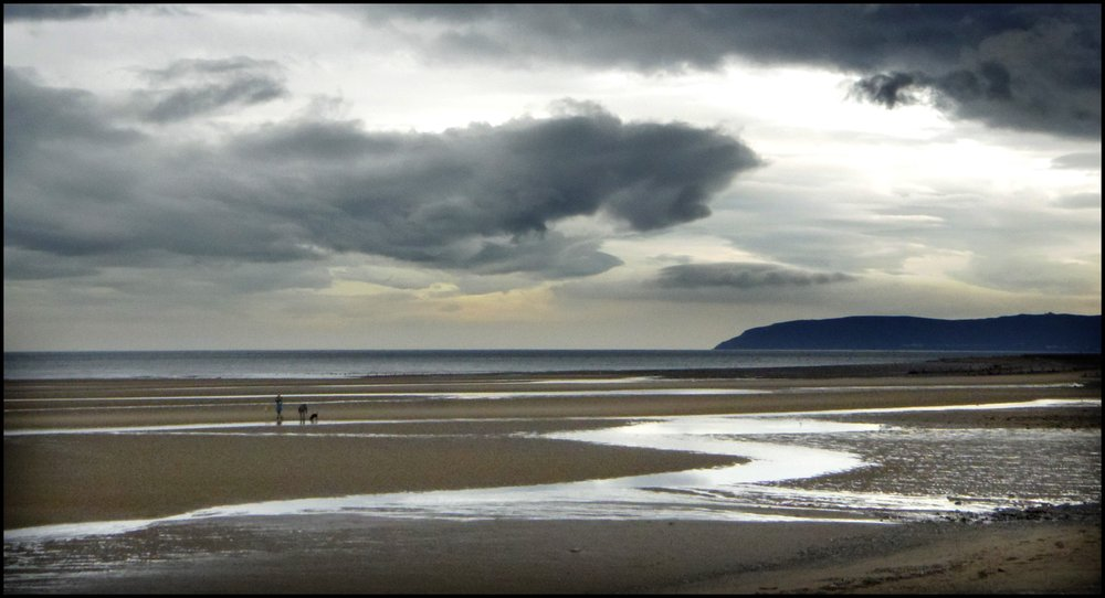 Low tide at Llanfairfechan