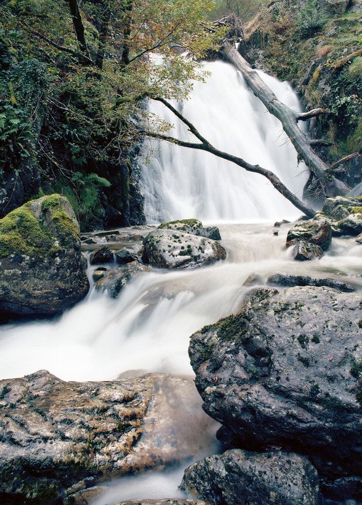 Minffordd Waterfall