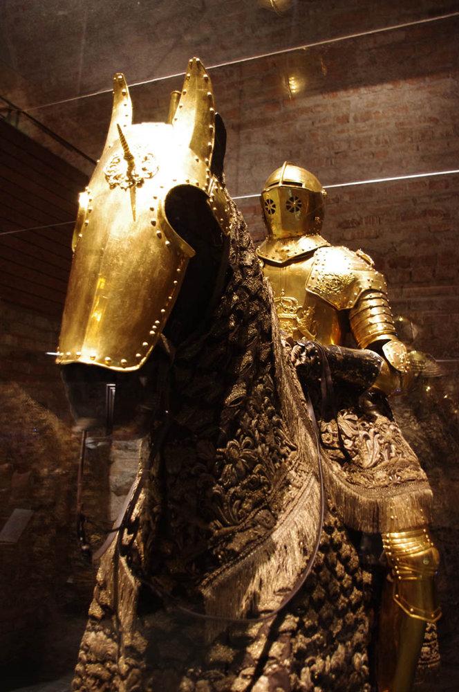 Swedish king's armor