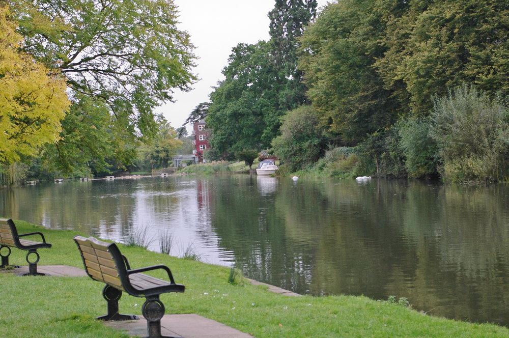 Weir at Stratford