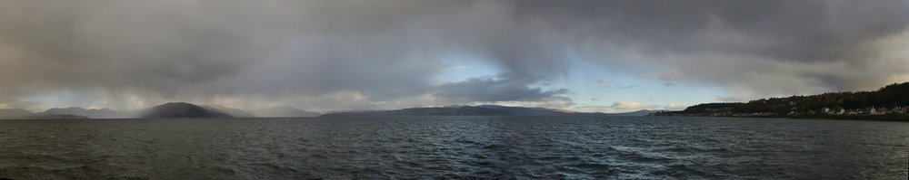 Angry Sky over the Clyde Firth