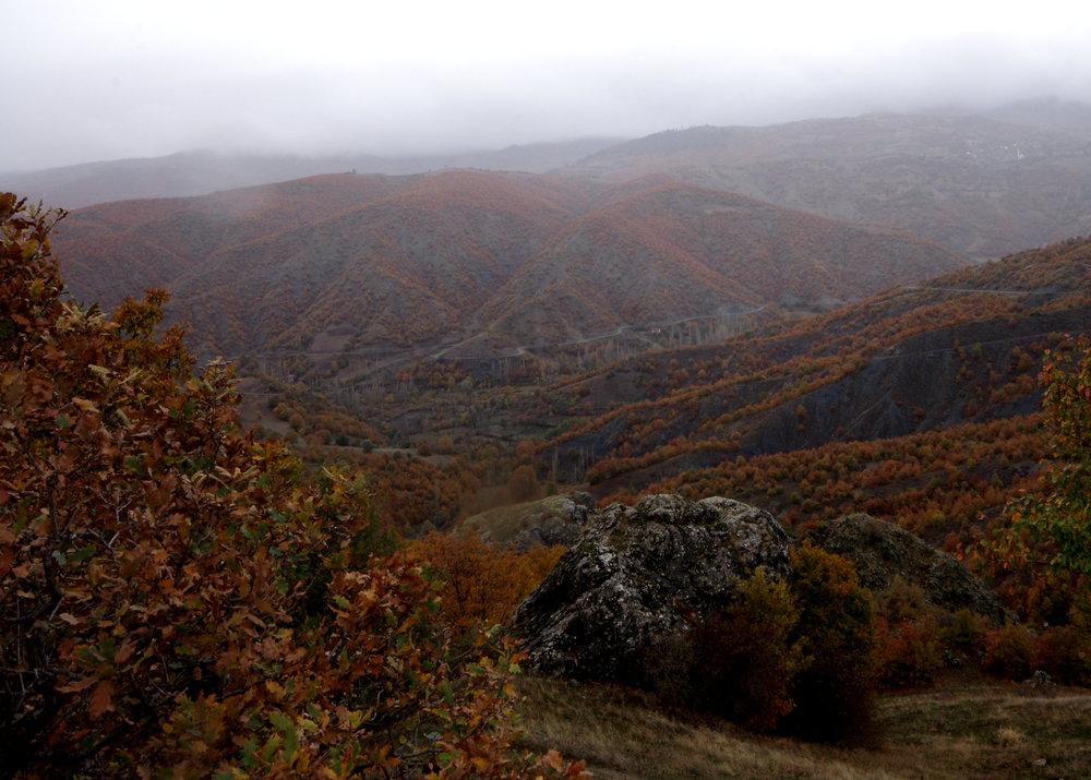 Autumn on the Mountains