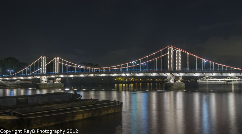 Chelsea Bridge by Night