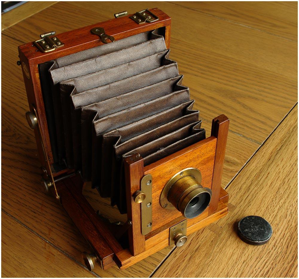 Marlow Bros MB No 1 Mahogany Field Camera