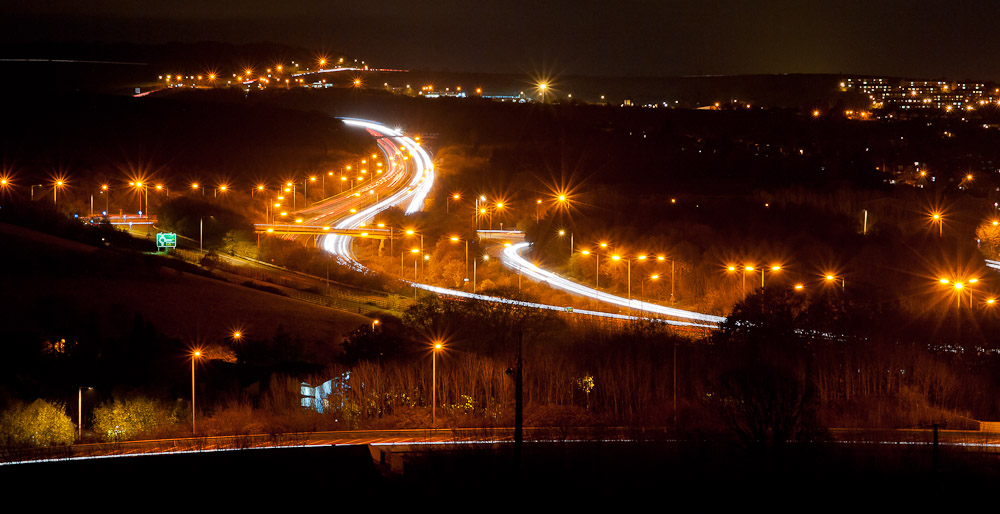 night over the A27