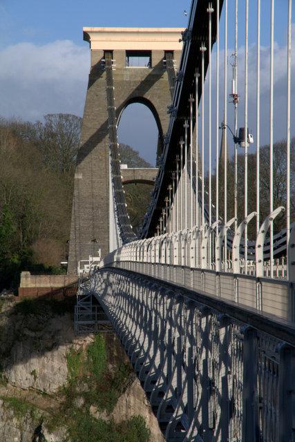 Bristol's famous bridge.