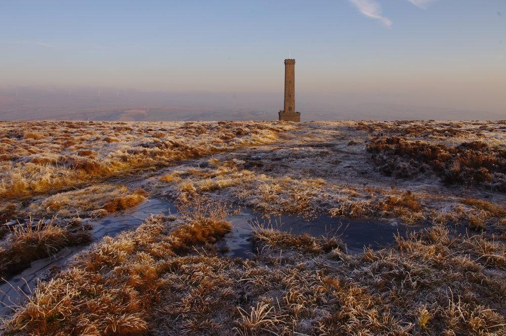 Hoar Frost on Holcombe Moor