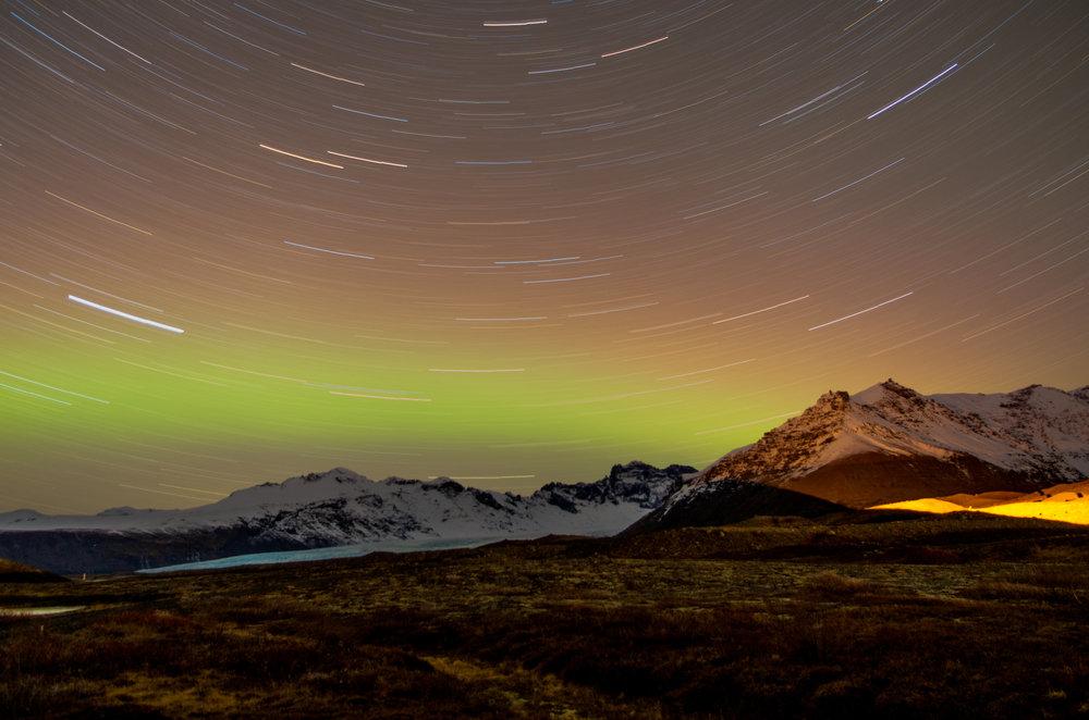 Northern Lights in Skaftafell 2
