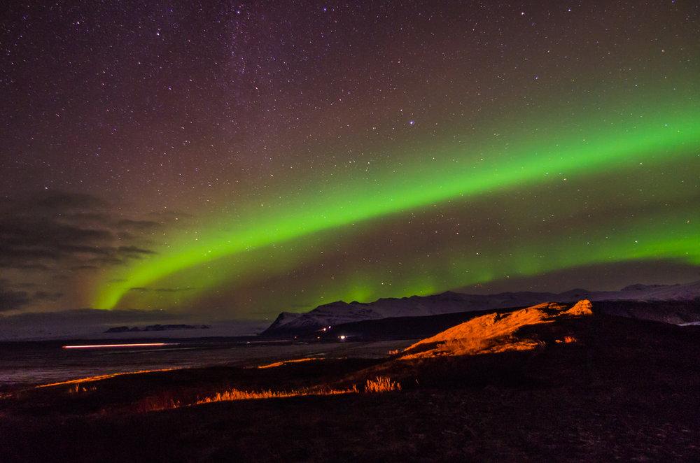 Northern Lights in Skaftafell 3