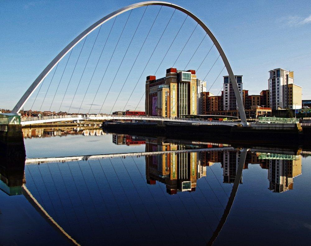 Reflecting the Tyne