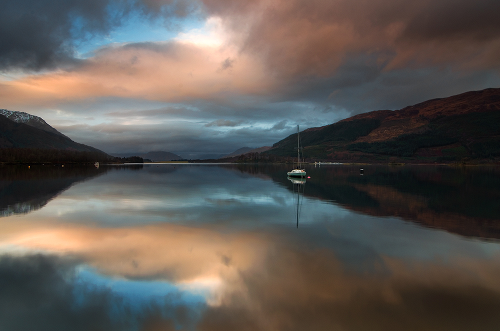 Reflections of Loch Leven