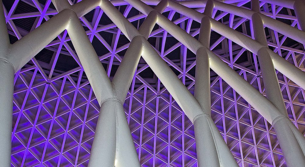 Roof at King's Cross Station